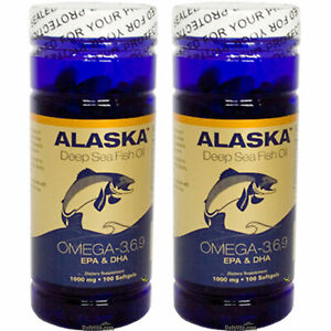 2x-Alaska-Deep-Sea-Omega-3-6-9-Fish-Oil-EPA-DHA-Flaxseed-Oil-100-SG-Made-In-USA