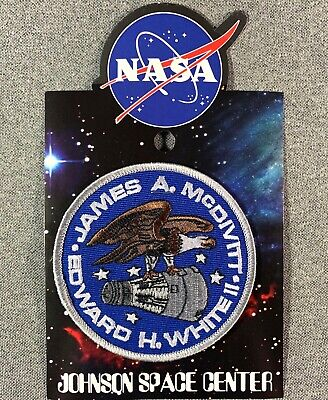 """NASA GEMINI 3 MISSION PATCH Official Authentic SPACE 3.5/"""" USA"""