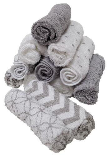 Grau Waschtücher 12er pack Baby Waschlappen Handtücher 100/% Baumwolle 12stück