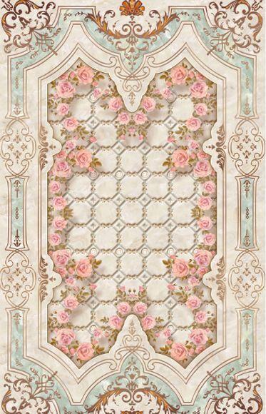 3D Blume pattern Korn 048 Fototapeten Wandbild Fototapete Bild Tapete Famili