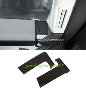 Carbon Fiber Side Dashboard Decor Cover Trim For Range Rover Sport 2018 2019