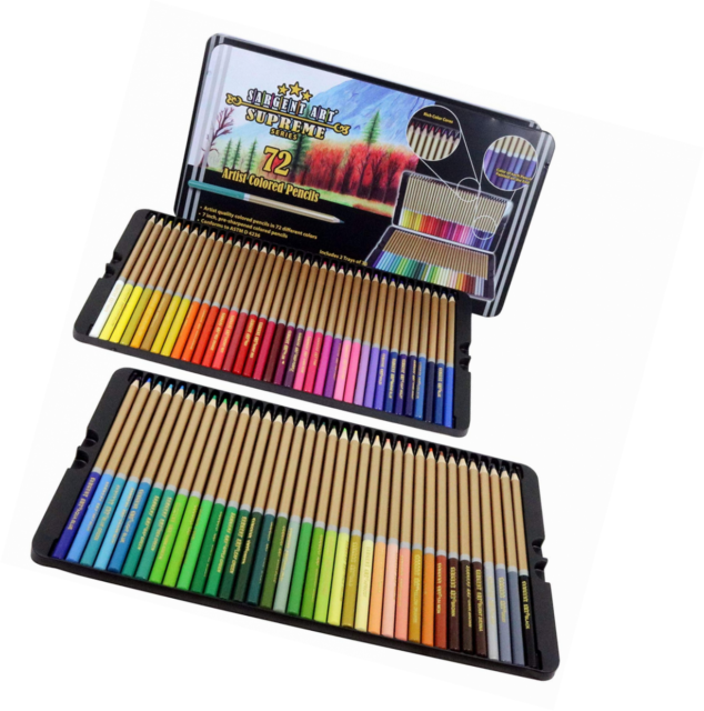 sargent art 22 7287 72ct colored pencils artist quality coloring ebay