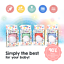thumbnail 23 - 4Teeth Baby Teething Mitten Premium Soft Silicone Toy in Gift Box BLUE,PINK