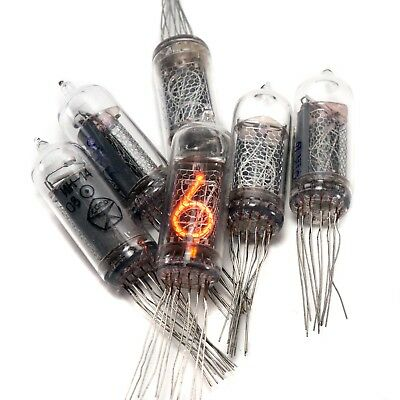 6x  IN-14 IN14 nixie tubes digit neon indicators NOS