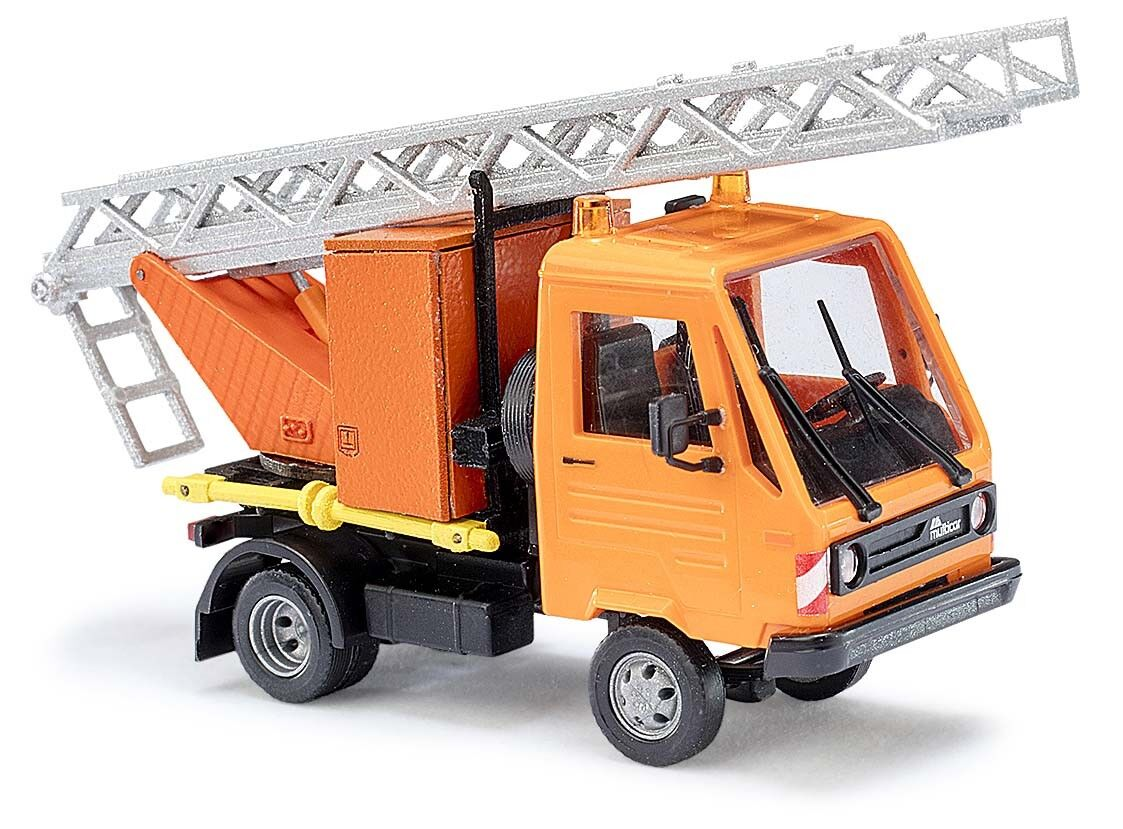Busch H0 42223, MULTICAR WITH AERIAL LADDER, Vehicle Model 1 87