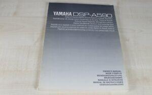 Yamaha-DSP-A590-original-Bedienungsanleitung-mehrsprachig-Deutsch