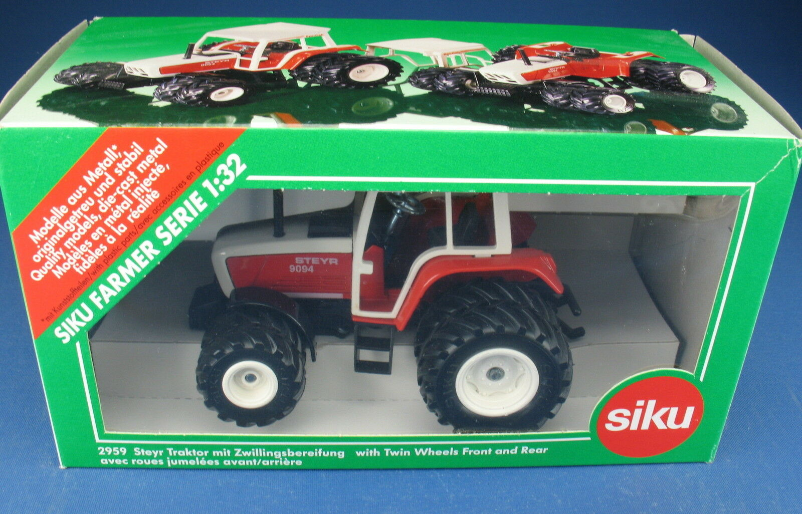 SIKU FARMER 2959 - STEYR 9094 Traktor mit Zwillingsbereifung - - - NEU in OVP  1 32 375682