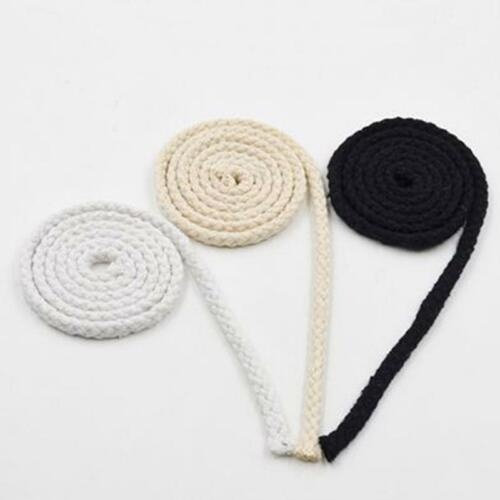 DIY Handmade Ropes Woven Cotton Cord String for Accessories Bags Crafts Projects