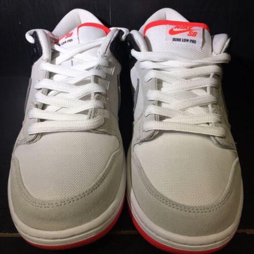 Nike SB Dunk Low Infrared Orange Label Size 9.5