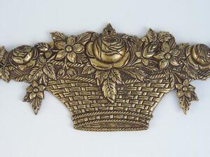 DéVoué Âge Bronze Saisir Meubles Saisir Fleurs Panier French France-afficher Le Titre D'origine