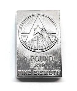 1-Pound-999-Fine-Bismuth-Bullion-Bar-Hand-Poured-Grimm-Metals