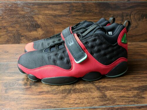 Jordan Cat Nueva Air rojo hombre 10 para 5 Baloncesto Bred marca Black Tamaño 611IEq
