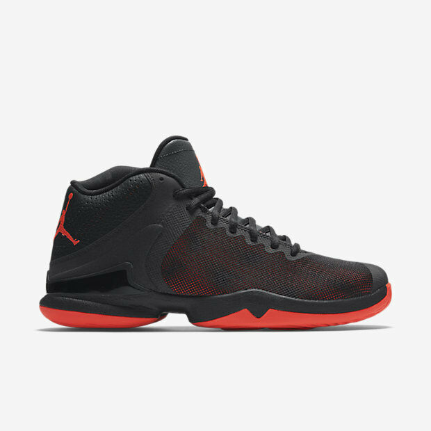 819163-012 Air Jordan Super.Fly 4 PO Blk/Anthracite<wbr/>/Infrared 23 New In Box