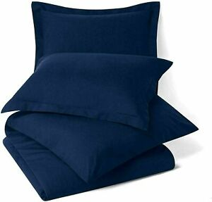 Solid-Navy-Blue-Ultra-Soft-Smooth-Cooling-Luxury-Microfiber-Pillow-Cover-Set-Of2