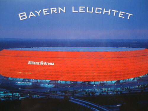 96R Stadionpostkarte Allianz Arena München # Nr