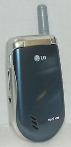 Details about LG VX3200 Verizon Wireless Flip Open SLATE BLUE Color Display  Cell Phone
