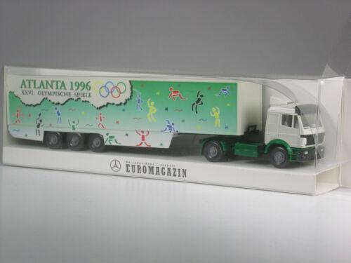 TOP Wiking Werbemodell Mercedes Koffer Sattelzug Olympia Atlanta USA 1996 OVP