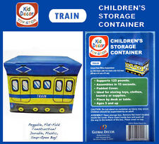 Global Decor Toy-Stor Train Children's Storage Container