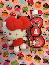 Hello Kitty Sanrio Plush And Water Bottle Set Hello Kitty Con New 35th Anniver