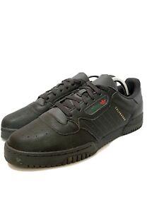 Mens-10-Adidas-Calabasas-Black-Leather-Shoes-CG6420
