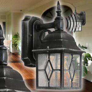 klassische aussenwandleuchte mit bewegungsmelder wand. Black Bedroom Furniture Sets. Home Design Ideas