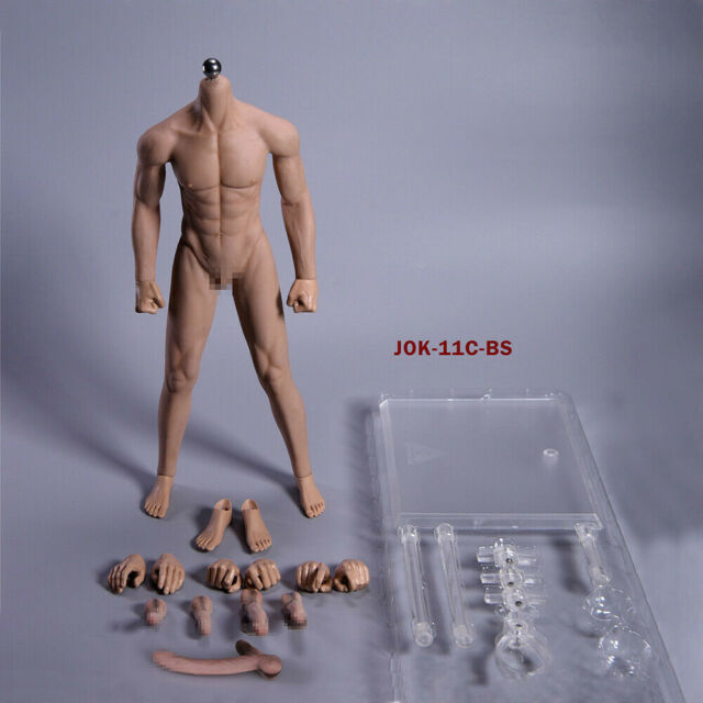 Phicen M30 Super-Flexible Male Seamless Body Stainless Steel Skeleton Figure