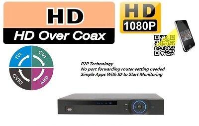 Dahua OEM 5-in-1 Pentabrid 4/8/16 Channel 1080P DVR HDCVI AHD TVI IP NVR XVR