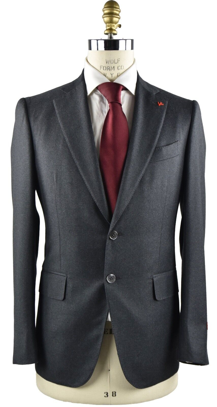 NEW 2018 ISAIA NAPOLI SUITS  100% WOOL 130'S SZ 40 US 50 EU 8R  18IVW4