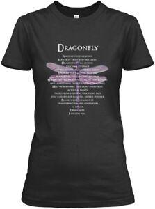 Dragonfly-Prayer-2-Gildan-Women-039-s-Tee-T-Shirt