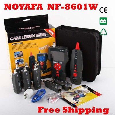 NOYAFA NF-8601/NF-8601A/NF-8601W RJ45 RJ11 BNC Network Lan Cable Length Tester