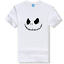 Anime The Nightmare Before Christmas t-shirt logo Men and women Short sleeves