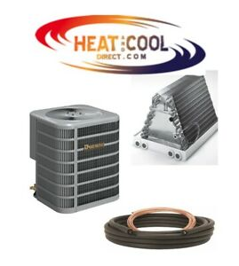 Details about New Ducane by Lennox High Efficiency 16 SEER Central Air A/C  PKG w/ Coil & Lines