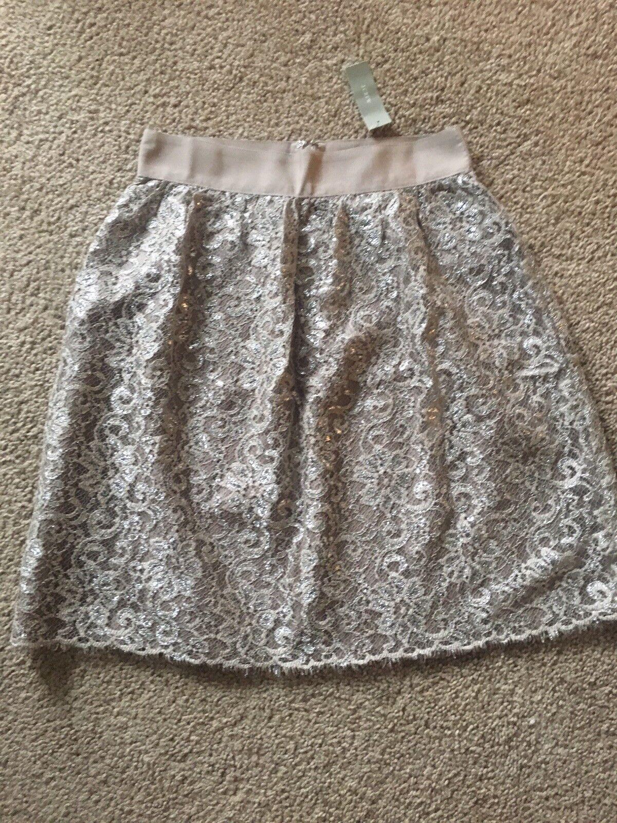 NWT Jcrew Shimmer Skirt Woman Size 0