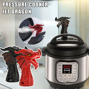 Red Cabinets Savior and Creative Fun Gifts Creazeal Steam Release Diverter Tool Fire-Breathing Dragon Steam Shunt Pressure Releases Accessories for Most Models Pot Pressure Cooker Supplies