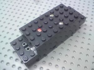 Lego Technic Plate 2x2 with 2 holes underneath 2817 Black x12
