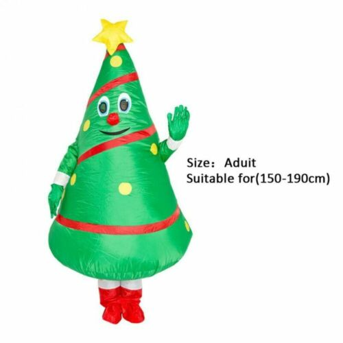 Adult Kids Halloween Costume Inflatable Costume Blow Up Christmas Party Suits