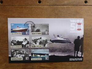 NEW-ZEALAND-2018-50th-ANNIV-WARTIME-SET-6-STAMPS-FDC-FIRST-DAY-COVER
