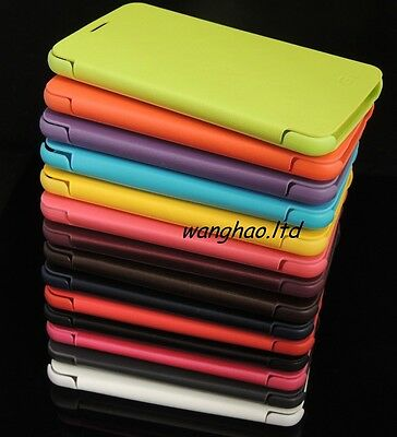Fashion OEM Flip Book Style Synthetic Leather Case Cover For Samsung Phone