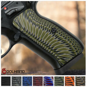 Details about Slim G10 Gun Grips for CZ 75 Full Size 75 B BD SP-01 Shadow 2  Coolhand H6-J6