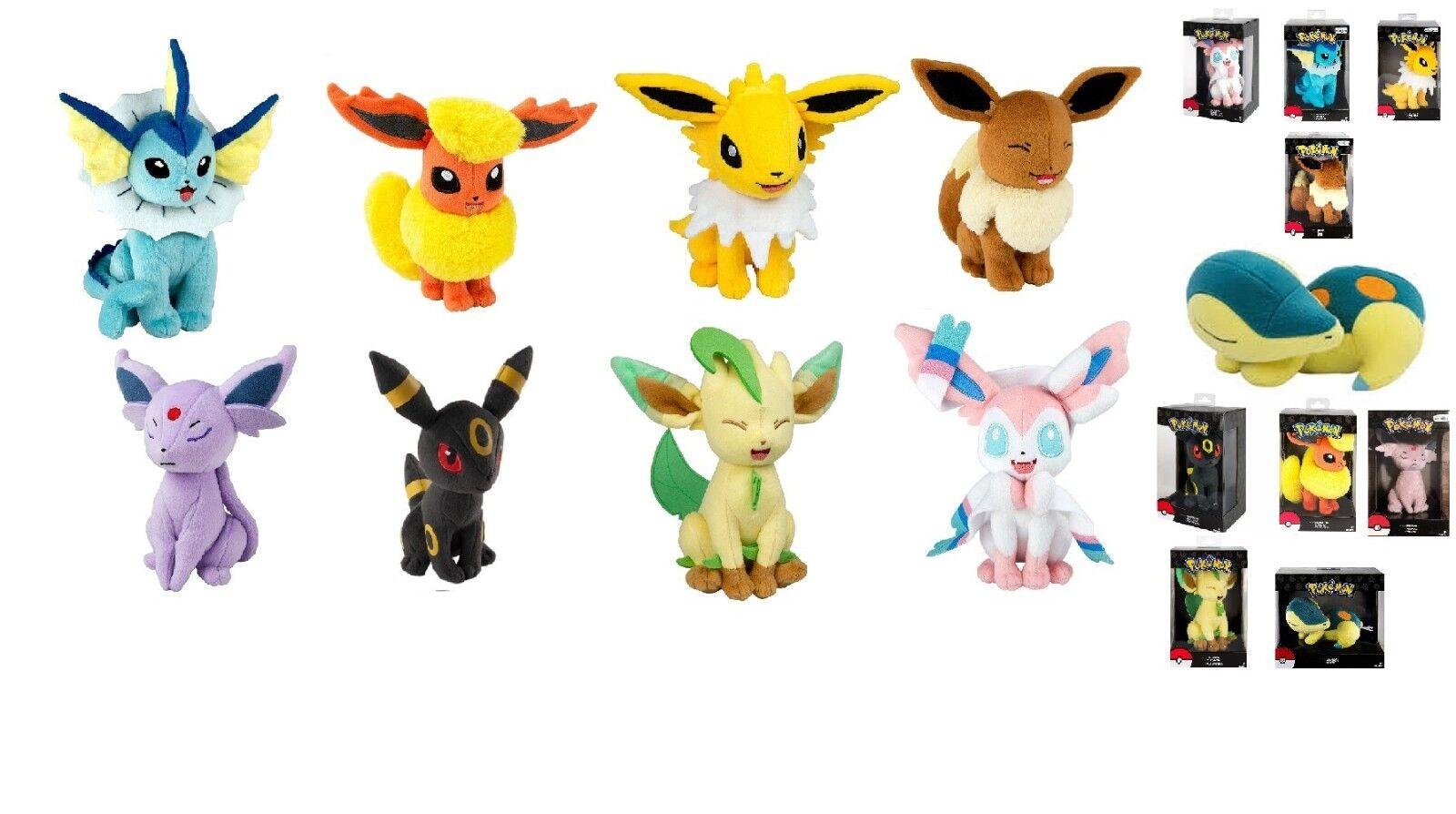 9-Raro Pokémon Plush Juguetes R Us Exclusive.