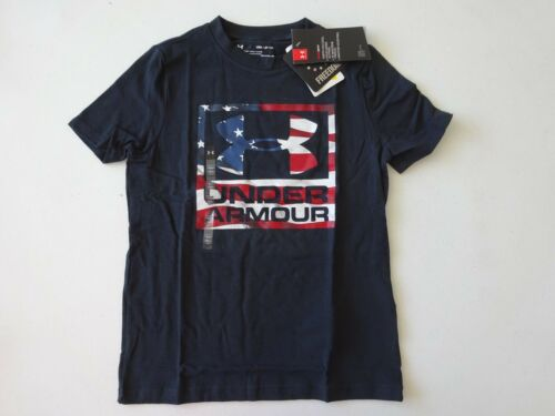 Under Armour Boy/'s Freedom BFL Short Sleeve Tee NWT 2018 Memorial Day July 4th