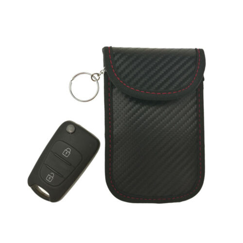 Keyless Entry Car Key Fob Signal Blocker Guard Protector RFID Shield Bag Pouch