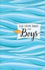 KJV Study Bible for Boys Hardcover (2016, Hardcover)