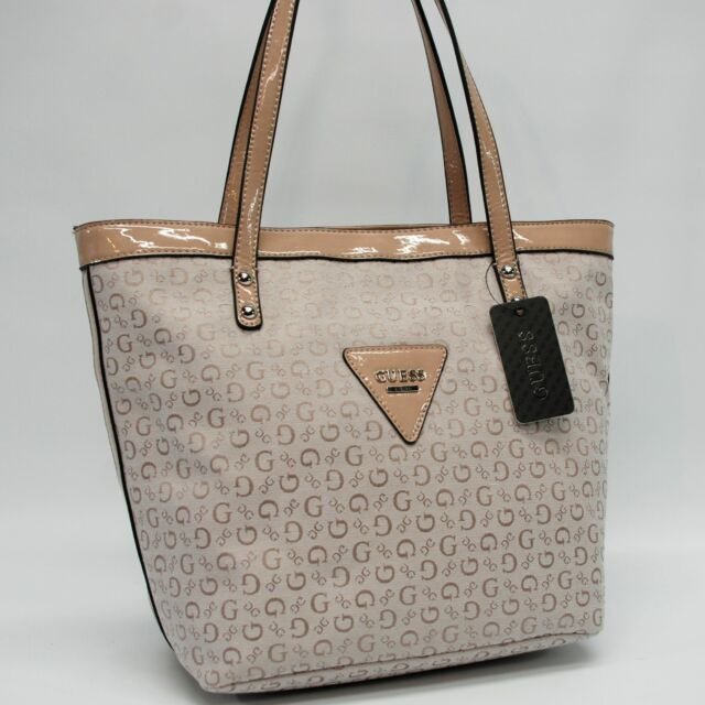 GUESS Authentic Tansy Nude Signature Tote