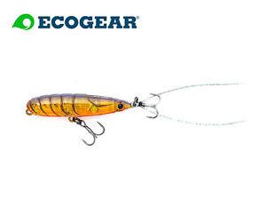 ECOGEAR-PX-45F-TopWaterbait-Japanwobbler-Barsch-Hecht-Zander-Forelle-Red-Craw