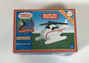 Harold-the-Helicopter-for-the-Thomas-amp-Friends-Wooden-Railway-New-in-Box