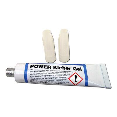 Baustoffe & Holz Heimwerker Stc Power Kleber Gel 20 G Tube Klebstoff Transparent Sekundenkleber Dickflüssig üPpiges Design