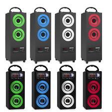 Mobiler Bluetooth Lautsprecher Mini Stereo Anlage USB SD AUX MP3 Player FM Radio
