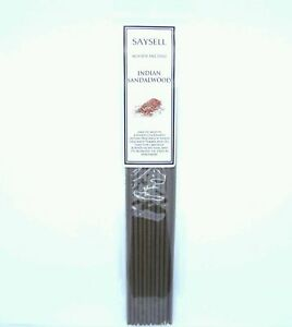 Indian-Sandalwood-Fruity-20-Incense-Joss-Sticks-Agarbatti-by-Saysell