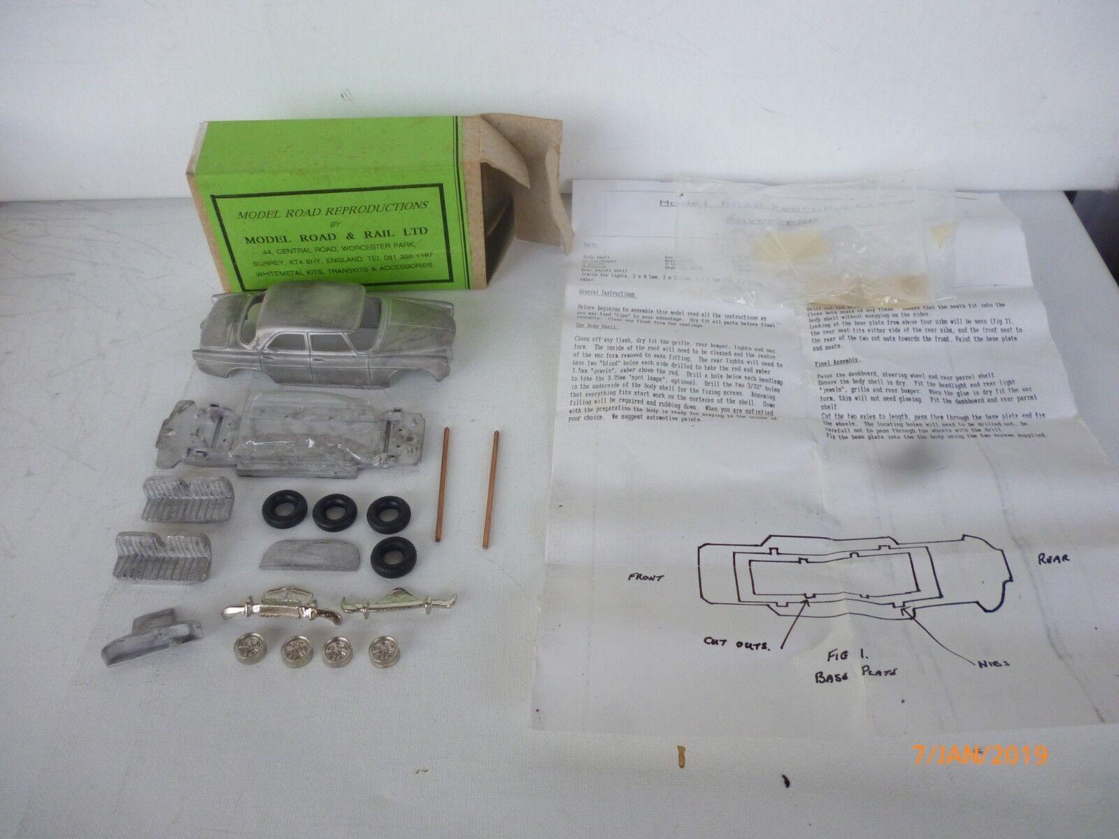 Modell straße reproduktionen - dinky spielzeug replik - 1 43 rover 3 - liter - unbebauten